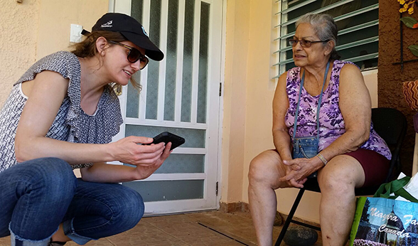 Sorensen in Puerto Rico