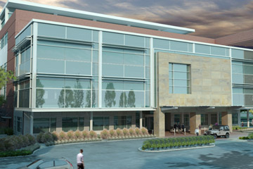 Rendering of new University of Colorado Eye Center