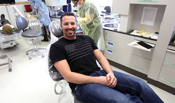Micah Marmaro is a Heroes Clinic patient