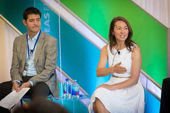 Farrey and Wong at Aspen Ideas Festival