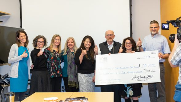 Kevin Deane, MD, PhD, awarded a surprise grant from the Rose Community Foundation