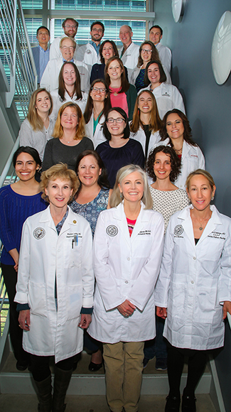 CU Motion Disorders Center group photo.