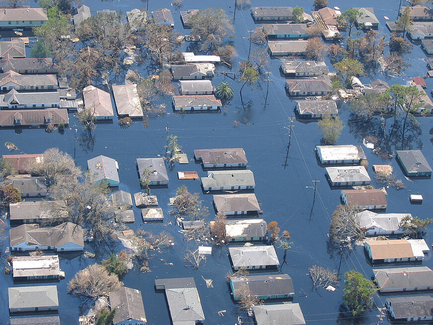 Natural disasters like Hurricane Katrina can spur outbreaks of infectious disease.
