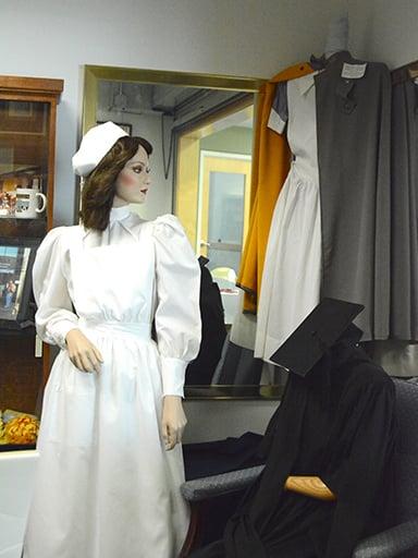 Nursing uniform in History Center