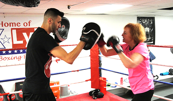 Power Punch Parkinsons program in Denver