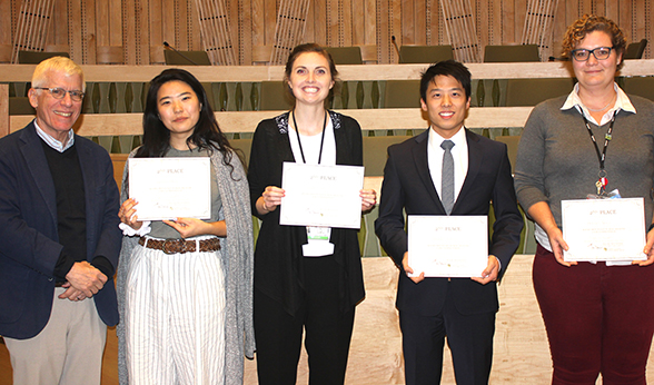 Second place team public health case competition
