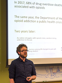 Dylan Verden, CU Anschutz PhD student