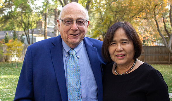 Henry and Joan Strauss