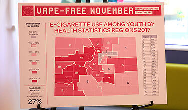 Youth vaping graphic
