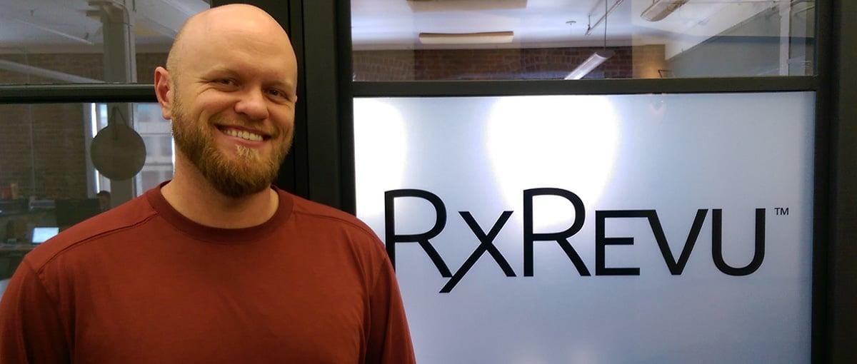 Wes Blakeslee at work at RxREVU