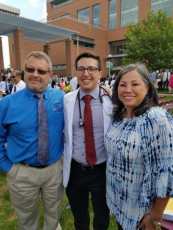 Michael Levy and Parents