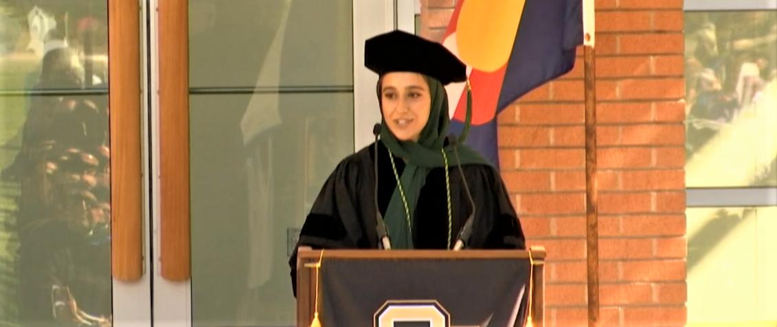SOM Graduation Class Speaker ZainabZullali