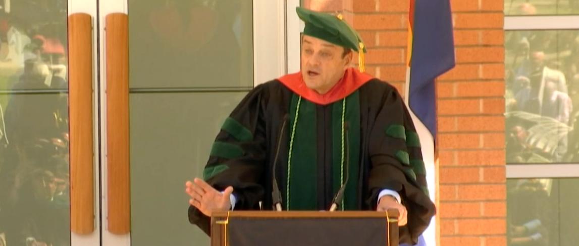 SOM Graduation Dean Reilly