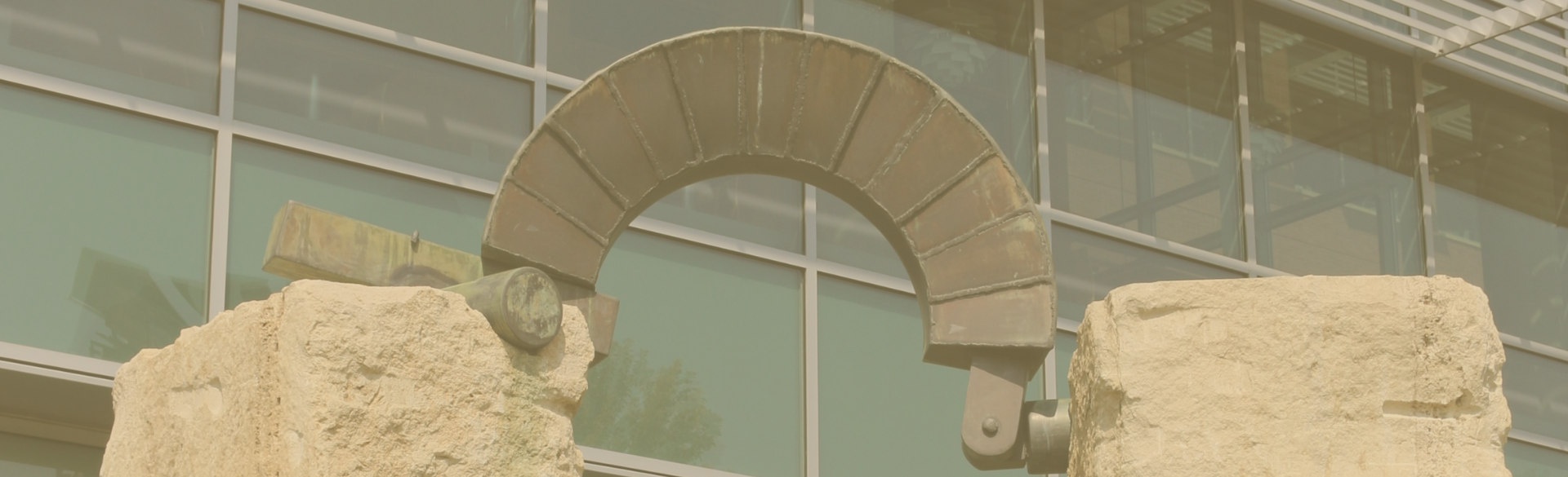 stone and metal sculpture