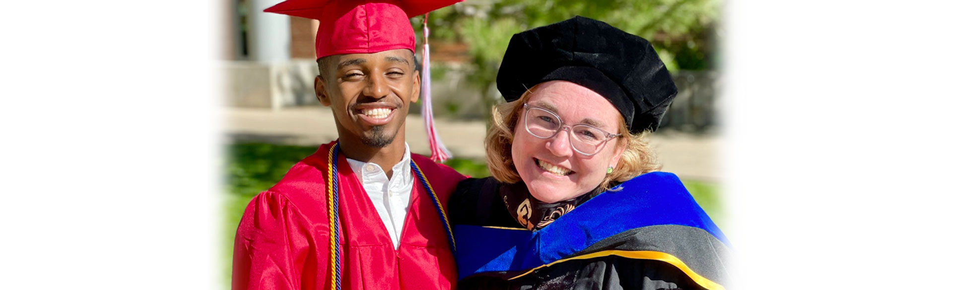 Maren with his mom, CU Nursing PhD Student Emily Barr May 26, 2021