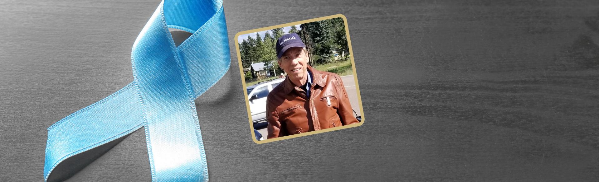 Ashton Villars Prostate Cancer Patient and Donor | CU Cancer Center | Aurora, Colorado