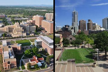 CU Anschutz Medical Campus and the Denver Campus