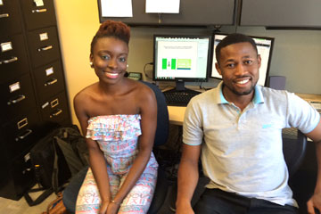 Nigerian doctoral studetnts in Colorado School of Public Health working to stem spread of Ebola