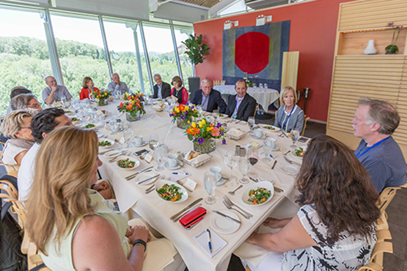 Luncheon at the Aspen Ideas Festival