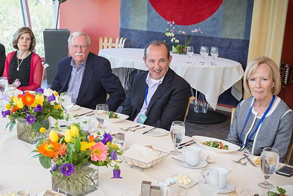 Roop at the Aspen Ideas Festival Luncheon