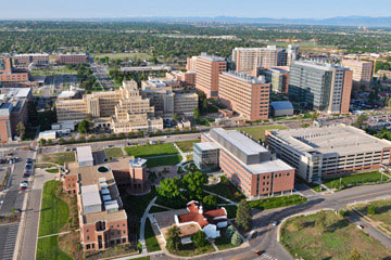 Anschutz Medical Campus in Aurora, Colo.