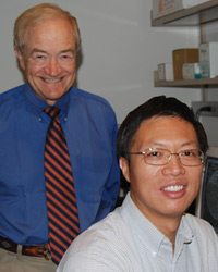 Curt Freed, MD and Wenbo Zhou, PhD, Parkinson's disease researchers