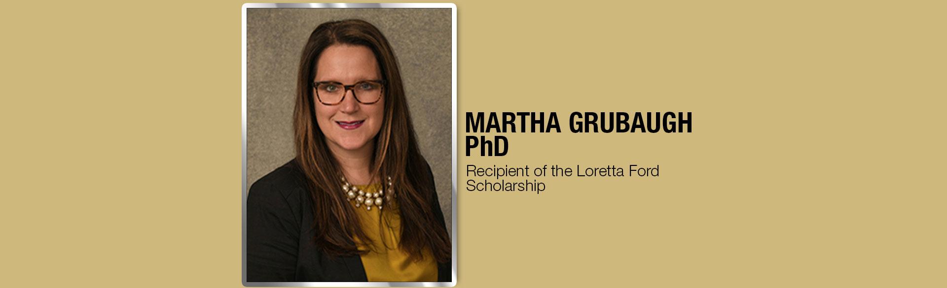 CU Nursing Student Martha Grubaugh, PhD
