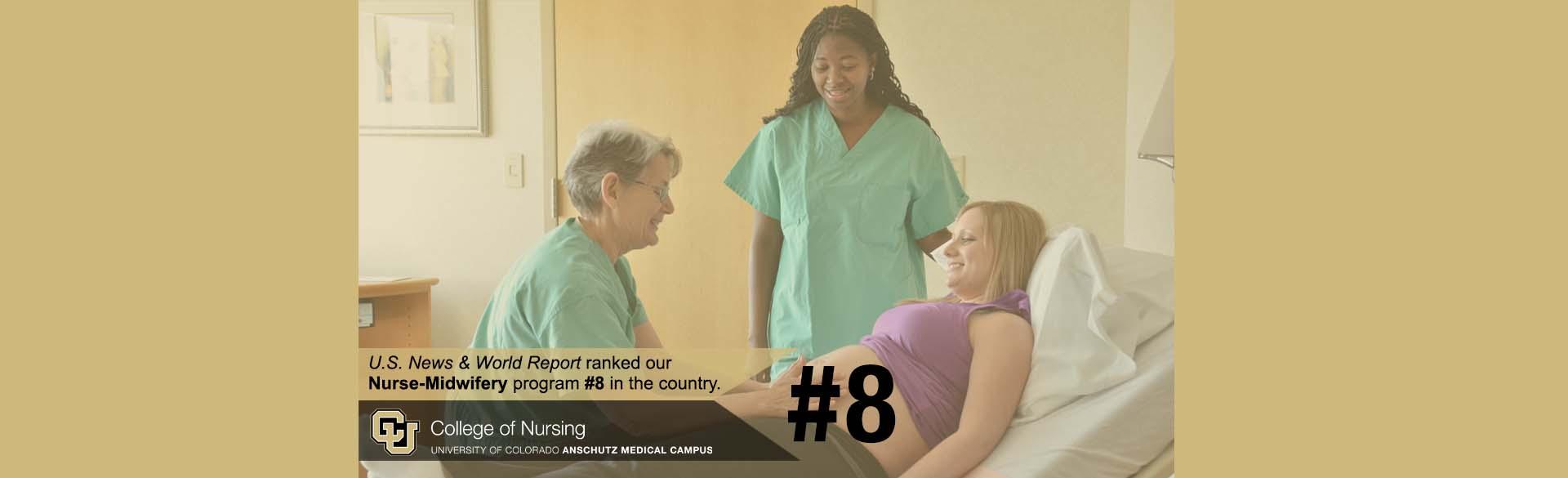 U.S. News ranking CU Nursing's Master's in Nursing program in the top 10% nationwide