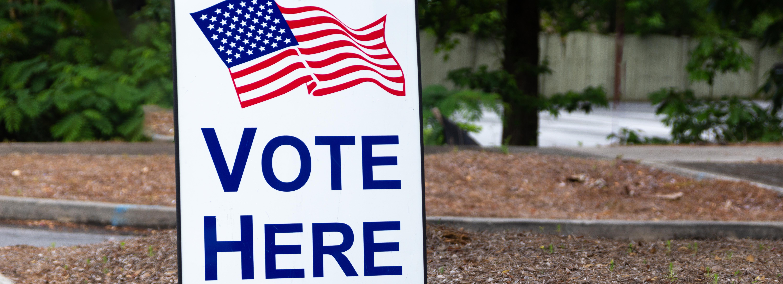 Voting center and ballot drop box